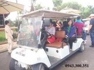 Xe điện du lịch tại Vườn Vua Phú Thọ, Xe điện du lịch giá rẻ, Xe điện chở khách giá tốt
