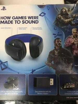 Tai nghe không dây Gold Headset Sony hàng Us nguyên seal