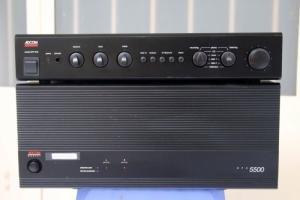 Combo Adcom Gfa-5500 + Gfp-555 made in U.S.A