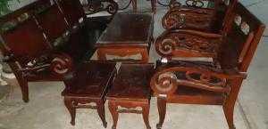 Salon tay cuộn ghế 3. 7 món