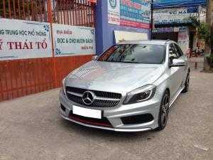 Cần bán chiếc Mercedes A250 AMG 2015 màu bạc, nhập khẩu nước Đức