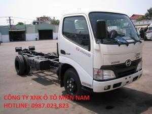 Hino Xzu650 xe CHASSI