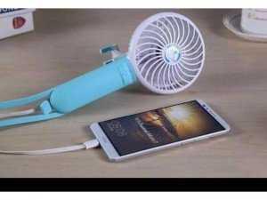 Gậy tự sướng USB Self timer lever Fan 3 in 1