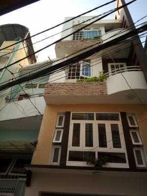 Nhà mới 40m2, hẻm xe hơi, Phan Đình Phùng, P1, Phú Nhuận.