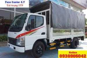 Xe tải Fuso Canter 4.7 tải trọng 1T9 thùng dài 4,3m