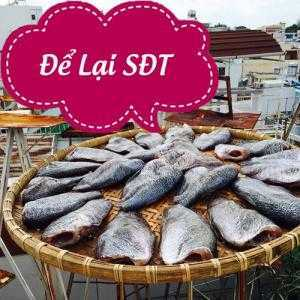 Khô cá sặc trứng từ shop khô cá