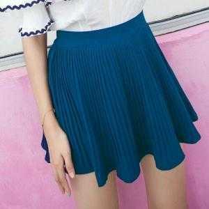 Chân váy dập ly kèm quần CV01