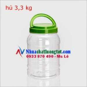Hủ nhựa đựng thực phẩm. Nơi bán hủ nhựa giá rẻ chất lượng nhất : hủ nhựa 3,6 kg, hủ 4 kg, hủ nhựa 5 kg
