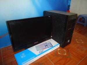Bộ máy bàn H61 chíp G2030 card rời + màn hình sam sung 23in