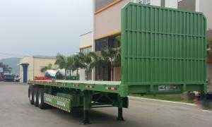 Đại lý Doosung bán  SMRM sàn có thành lửng,3trục,40Feet, 30.6Tấn chở hàng, container. Giá rẻ