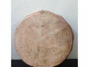 Đĩa Roma composit Ý xịn, hoa văn nổi đường kính 23.5 cm, giá 450k