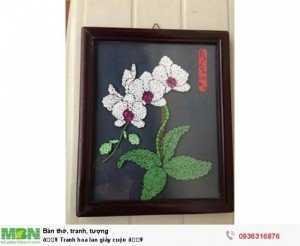 Hoa lan giấy cuộn