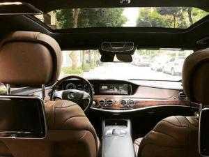 Mercedes S400 at đời 2014 màu đen zin nguyên máy cop xem ghiền