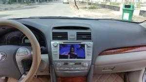 Bán gấp xe Toyota Camry 2.4G 2008 màu bạc zin bản full option