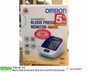 Máy đo huyết áp bắp tay tự động Omron he