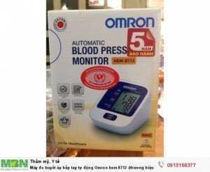 Máy đo huyết áp bắp tay tự động Omron hem 8712 (thương hiệu Nhật)