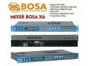 Vang số BOSA X6 thế hệ mới