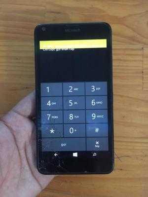 Cần bán Xác lumia 640 rm 1073 bể kính nguyên zin xài ok