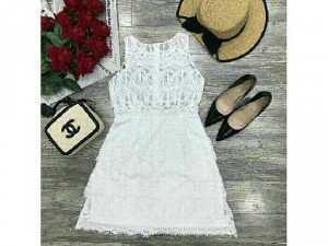 Đầm xoè ren cao cấp