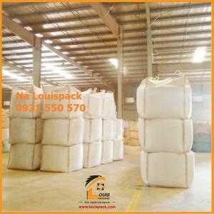 BAO Jumbo, bao big bag, bao tải trọng lớn xuất khẩu hay lưu kho, chứa bùn thải giá tốt nhất