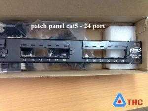 Patch Panel commscope cat5e, Thanh đấu nối commscope cat6 cho dự án