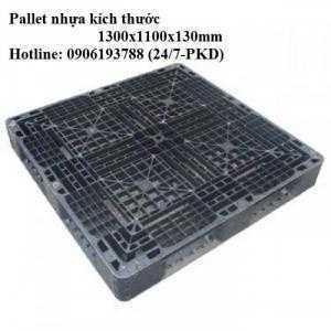 Pallet nhựa cũ 1300x1100x130mm