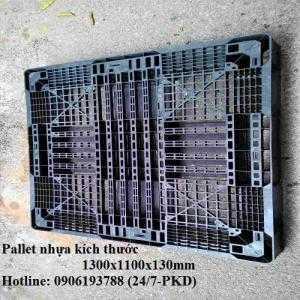 Pallet nhựa cũ 1300x1100x130mm , miễn phí vận chuyển Liên hệ: 0906193788 (24/24)