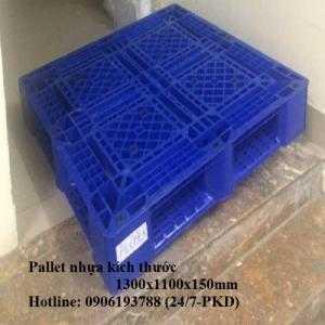 Pallet nhựa cũ 1300x1100x150mm