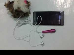 Micro karaoke mini cho điện thoại