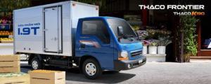Bán xe tải 1.9T Thaco KIA K190 tại Hải Phòng - hỗ trợ trả góp