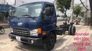 Hyundai HD120SL 8 tấn thùng 6m3 tại Cần Thơ, Trà Vinh, Sóc Trăng, Hậu Giang