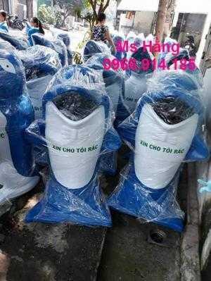 Thùng rác chuột túi, thùng rác chim cánh cụt trong công viên
