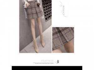 Chân váy sọc 006#