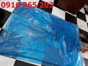 Túi đựng chất thải y tế loại lớn, bao rác lớn bệnh viện, túi rác màu xanh y tế
