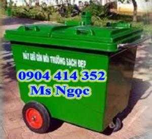 Xe đẩy rác 660 lít , thùng rác công cộng 1000 lít, xe đẩy rác composite 660 lít , thùng rác composite 4 bánh xe