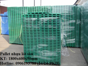 Công ty bán pallet nhựa lót sàn giá rẻ tại Hà Nội