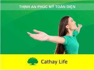 Sản phẩm tiết kiệm kết hợp bảo vệ người Phụ Nữ, Cathay Life Việt Nam
