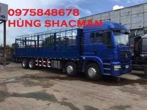 Xe tải thùng shacman 4 chân.chất lượng là thương hiệu.bền bỉ với thời gian