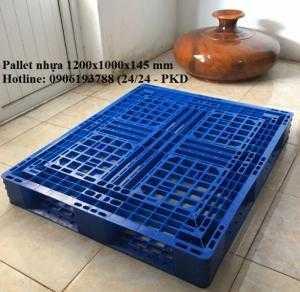 Giá pallet nhựa 1200x1000x145 mm tại tphcm
