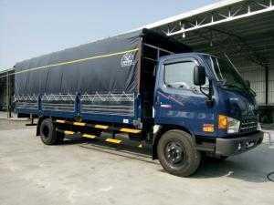 Xe tải HuynDai HD120SL 8 tấn Thùng Mui Bạt 6m3, DOTHANH HD120SL Tại Kiên Giang, Xe tải huyndai 8 tấn giá tốt.