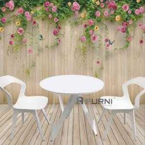 Bộ bàn ghế cafe sân vườn đẹp bền hiện đại tphcm CF VICTORY BEE