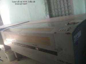 Máy Laser 1610 cắt vải giá siêu rẻ