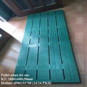 Công ty bán pallet nhựa lót sàn 1800x600x50 mm