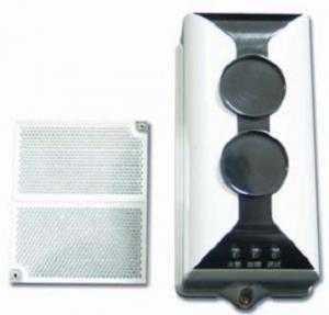 Beam dò khói và gương phản xạ gst i9105r lắp đặt cho nhà xưởng, nhà kho,...