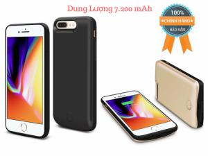 Ốp Lưng Kiêm Pin Sạc Dự Phòng IPhone 6 Plus/7 Plus/8 Plus Dung Lượng 7200mAh JLW-8PB-2