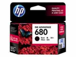 Mực in HP680 (F6V27AA) Black Original Ink Advantage Cartridge