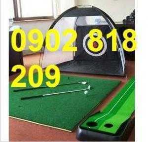 Lều tập golf tại nhà