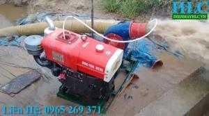 Máy bơm nước chạy dầu công suất lớn