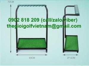 Giá để gậy golf đế cỏ