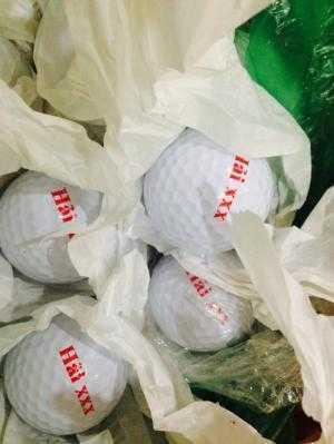 In logo lên bóng Golf